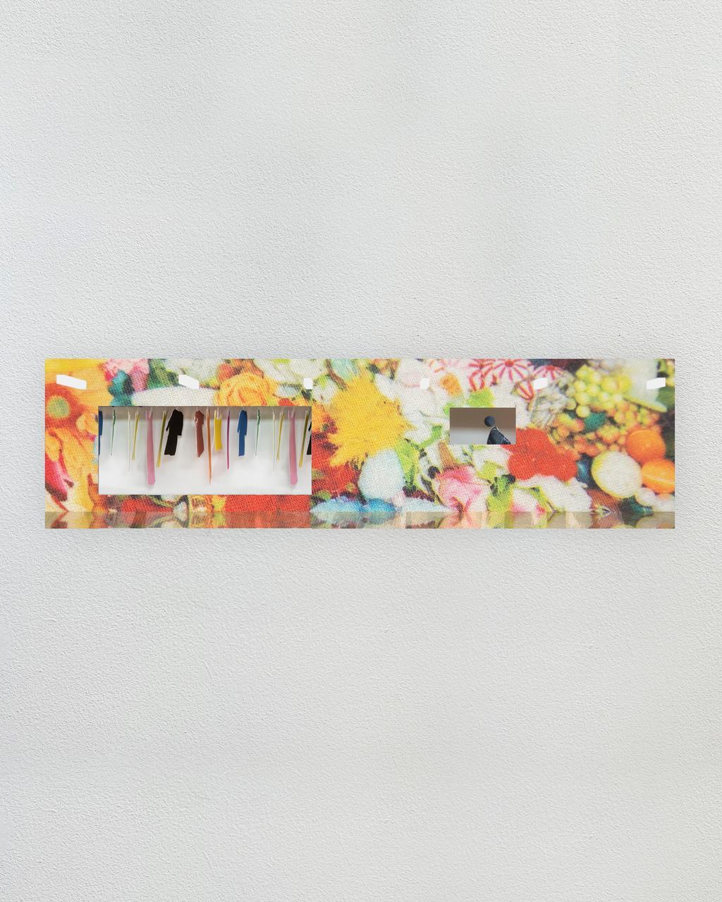Creative arts, Rectangle, Paint, Window, Shelving, Art