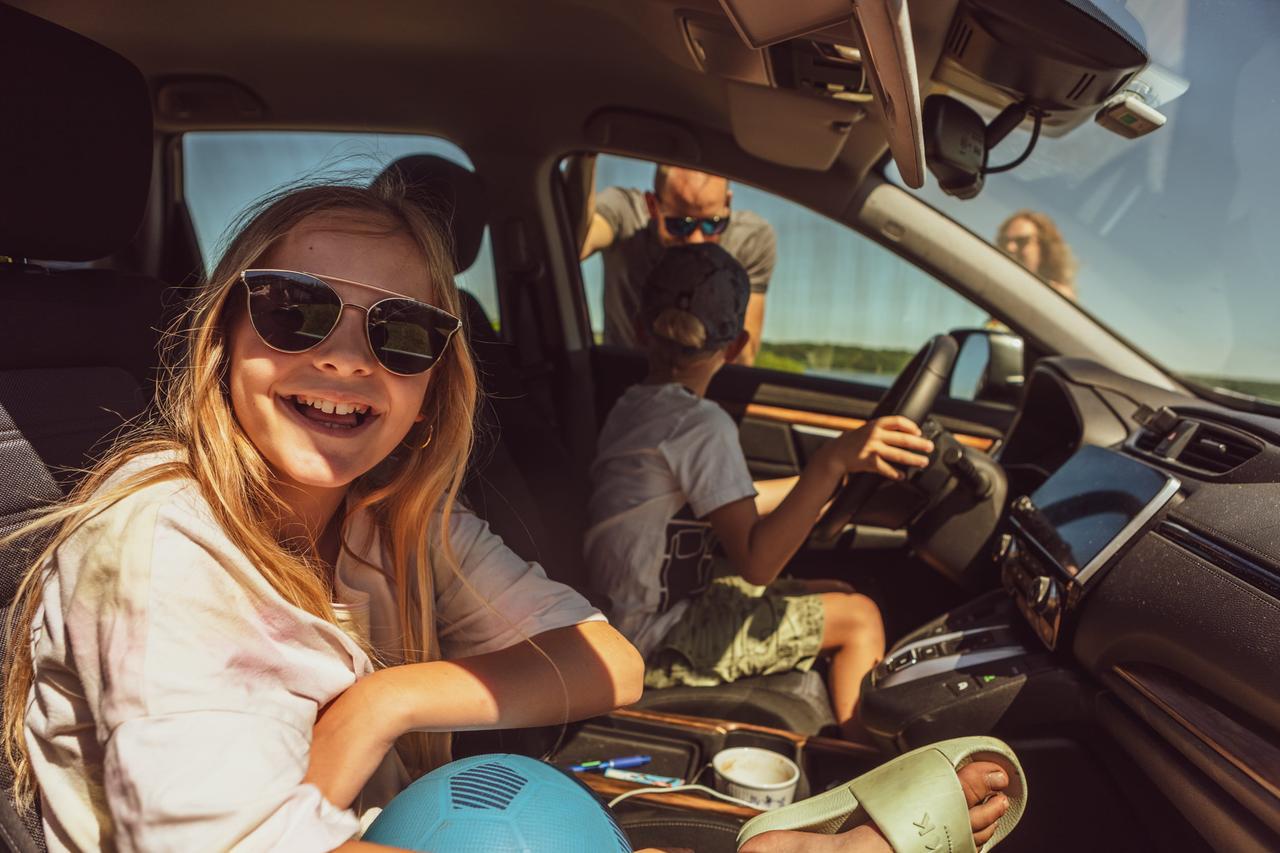 Land vehicle, Vision care, Automotive design, Smile, Car, Goggles, Sunglasses