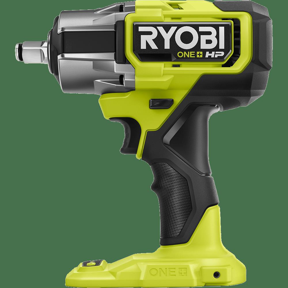 Handheld power drill, Pneumatic tool, Green, Yellow