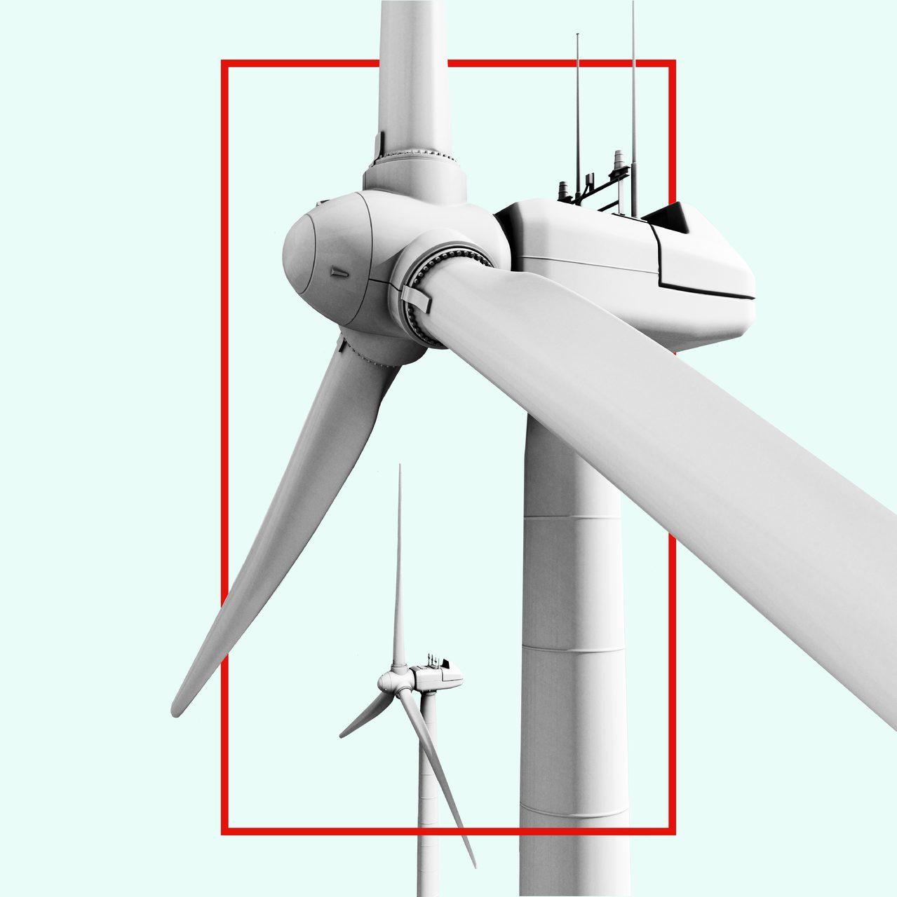 Wind turbine, White, Windmill, Aircraft, Line, Propeller