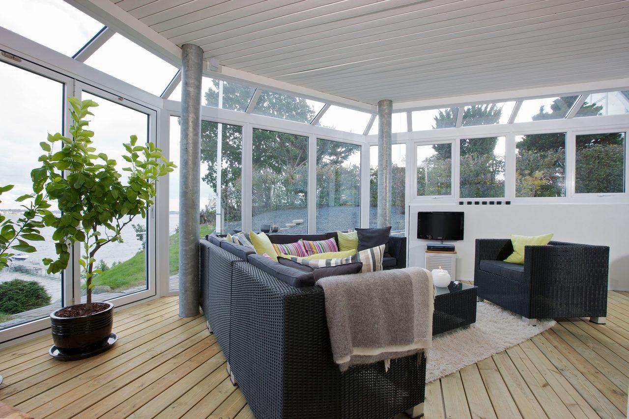 Interior design, Plant, Window, Table, Shade, Lighting, Chair, Wood, Condominium, Floor