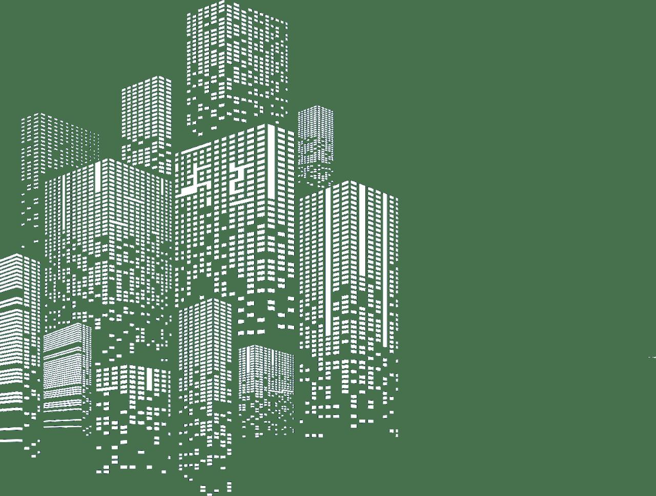 Building, Skyscraper, Grey, Rectangle