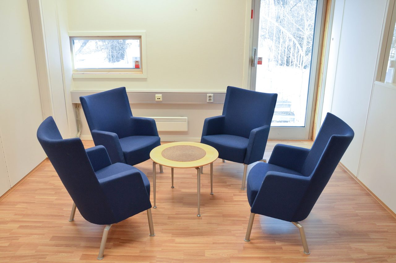 Interior design, Living room, Furniture, Table, Chair, Comfort, Wood, Flooring, Building, Window