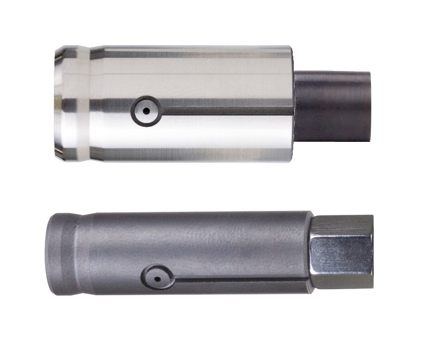 New coatings for air plug gaging, borrowed from cutting tools, offers extremely long life. The coating colors are often darker, signifying the coating is in place and offers a visual indication should it eventually wear and the base material show through.