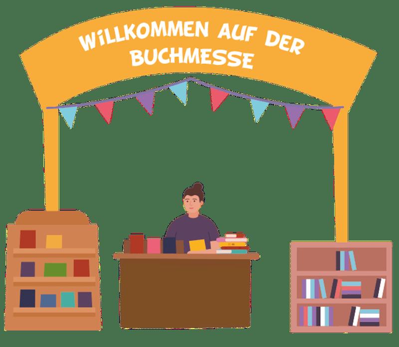 Willkommen auf der Buchmesse zum Lese Herbst 2021