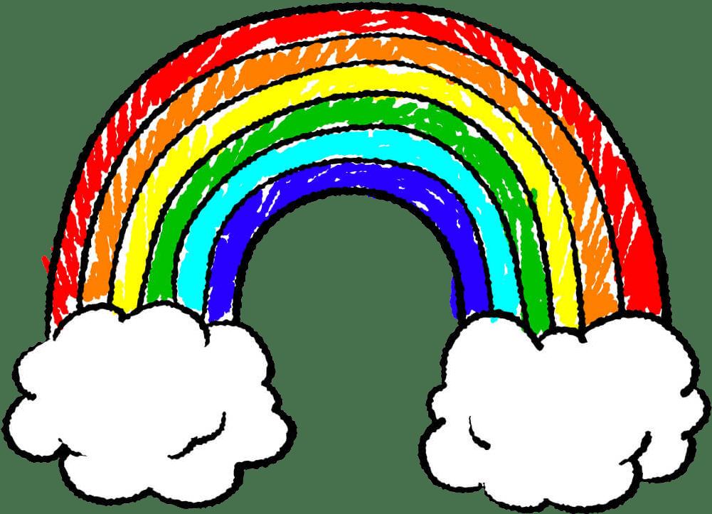 Rainbow, Light