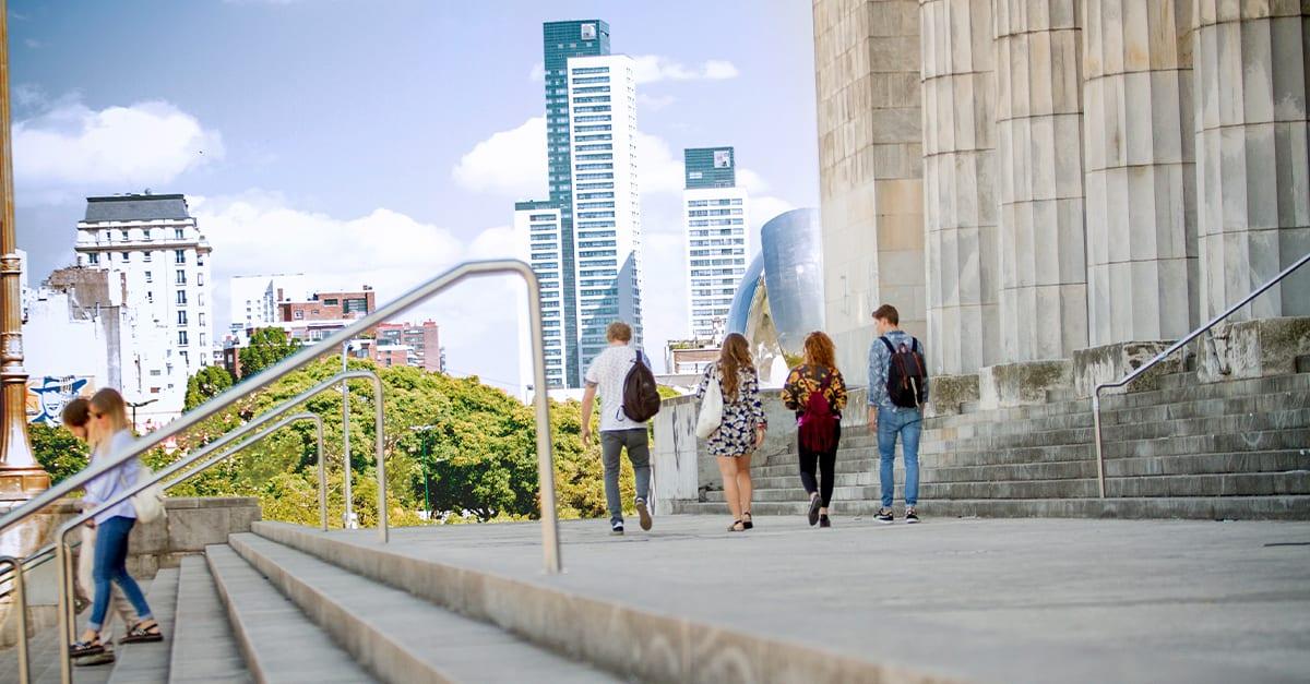 Tower block, Urban design, Street fashion, Sky, Cloud, Building, Skyscraper, Plant, Travel