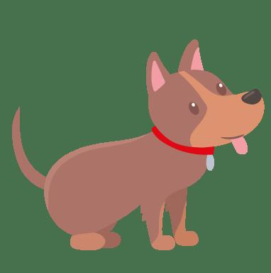 Dog breed, Terrestrial animal, Brown, Carnivore, Toy, Cartoon