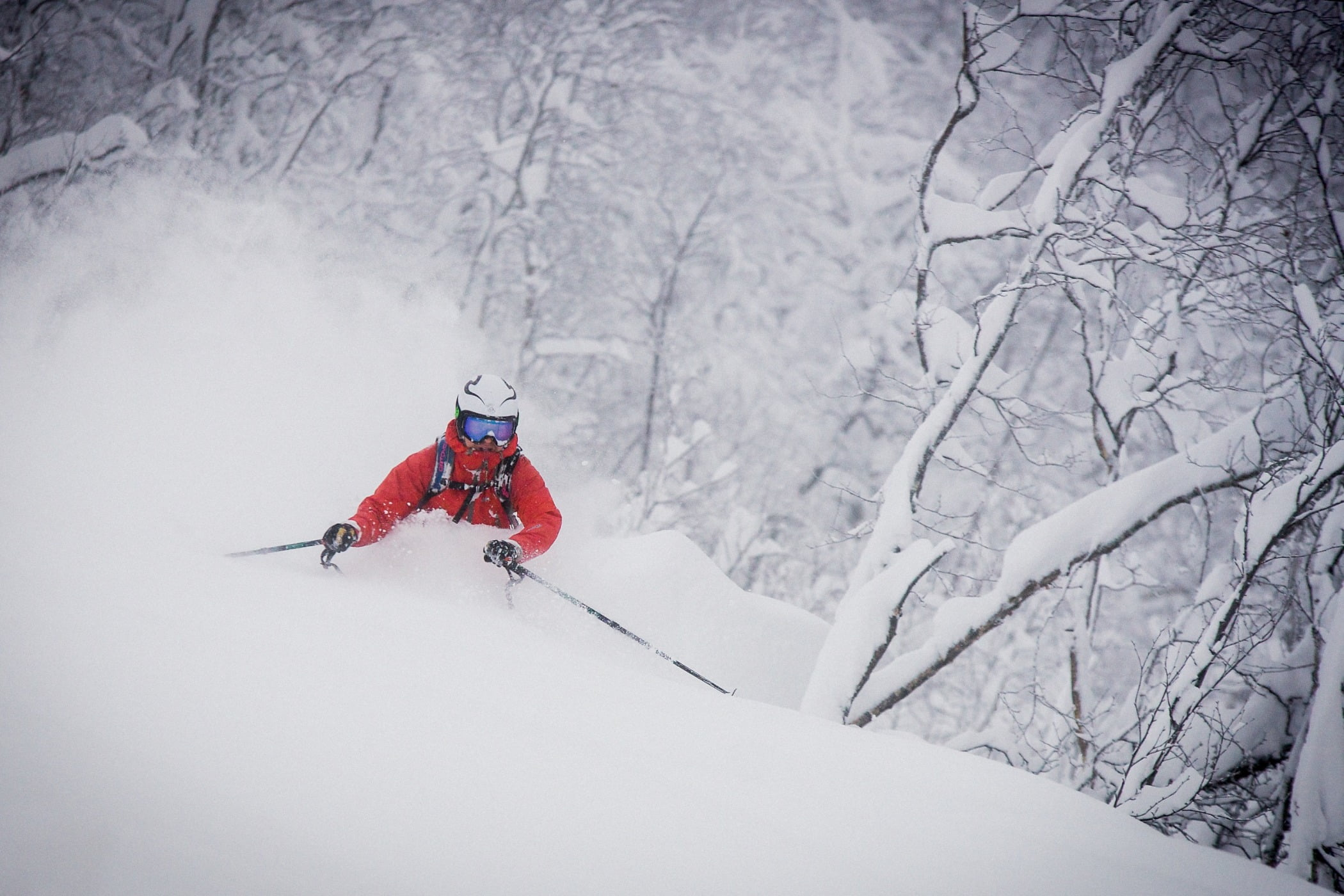 Ski Equipment, Geological phenomenon, Outdoor recreation, Winter sport, Carmine, Adventure, Snow, Freezing, Slope