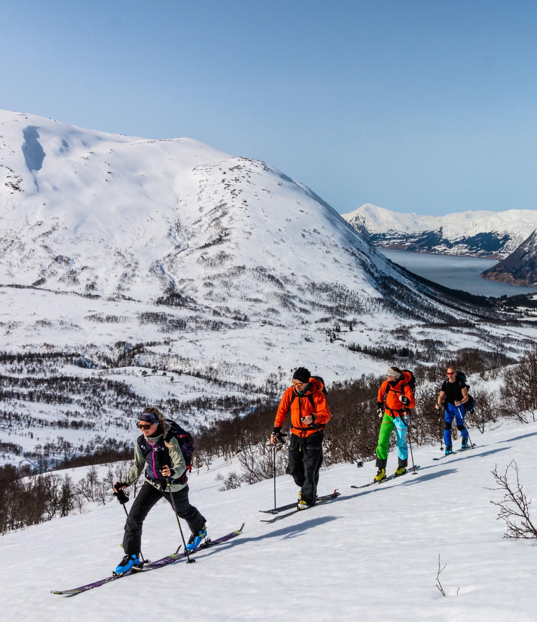 Ski pole, Winter sport, Sports equipment, Skier, Snow, Recreation, Clothing