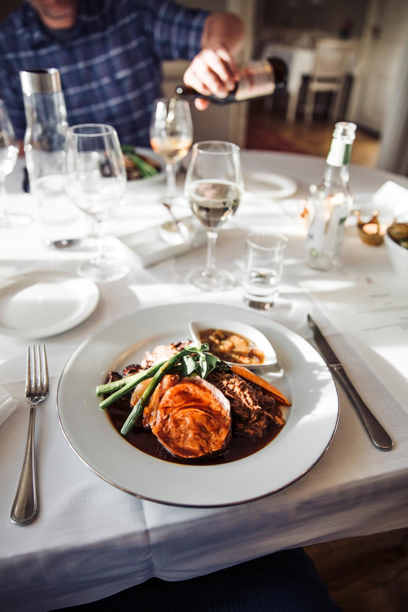 Wine glass, Food, Table, Tableware, Furniture, Dishware, Fork, Plate, Ingredient, Recipe