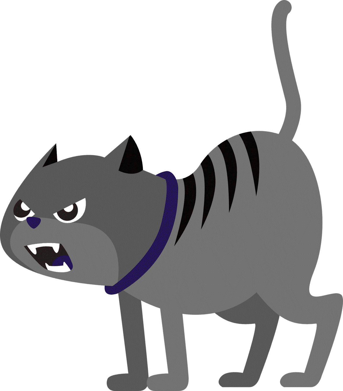 Carnivore, Cartoon, Line, Whiskers