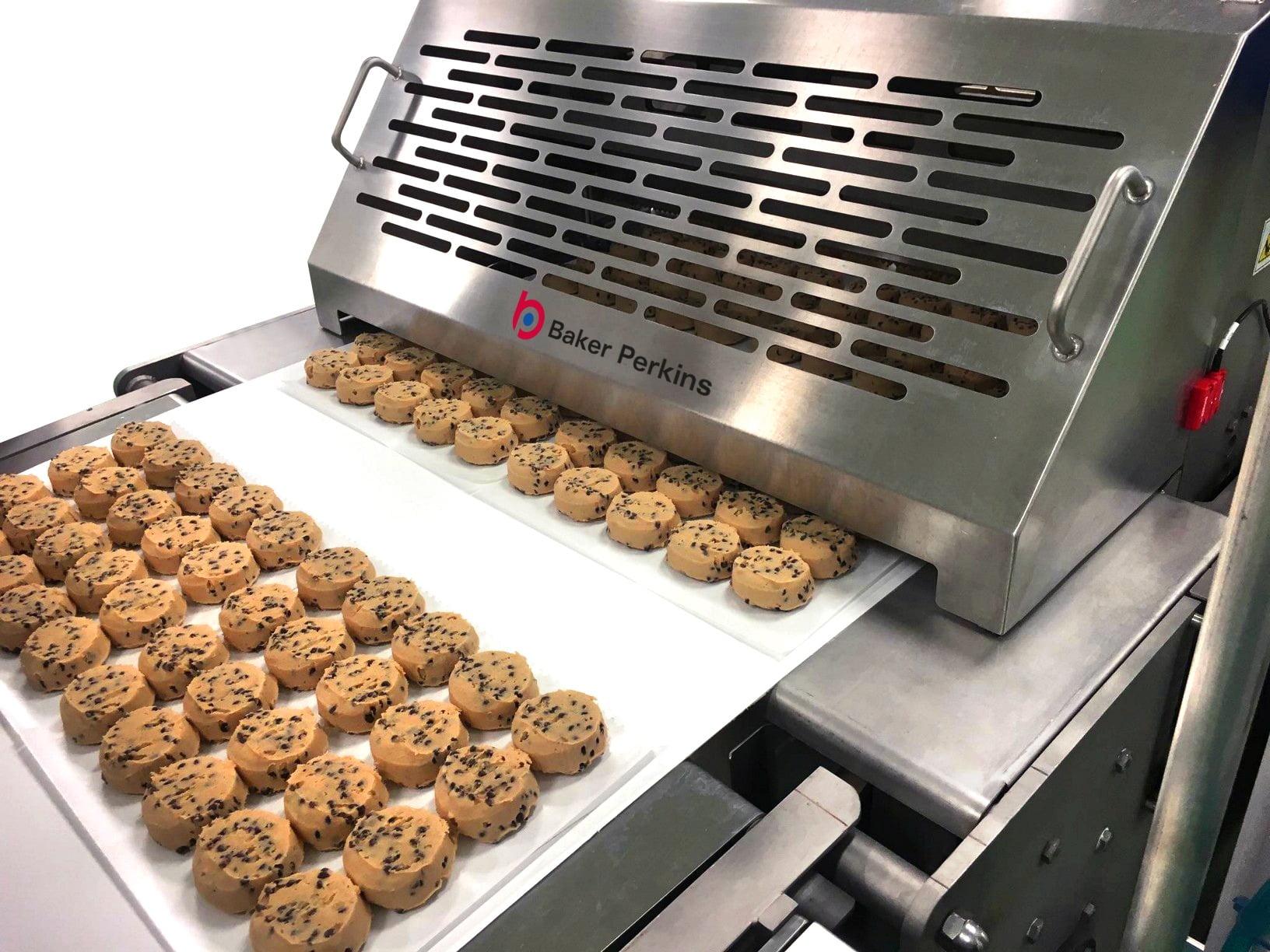 Cookie dough, frozen dough, Cookies, Bakery Equipment, Conveyor