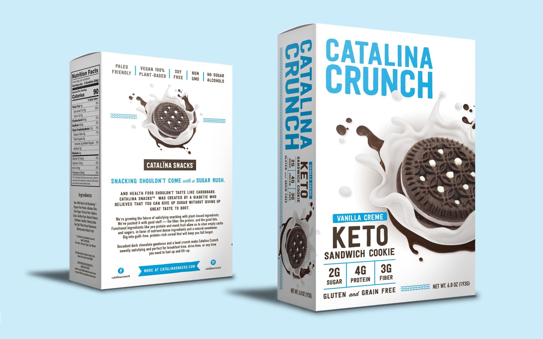 Box, Cookies, Keto, Aqua, Logo, Packaging, Product