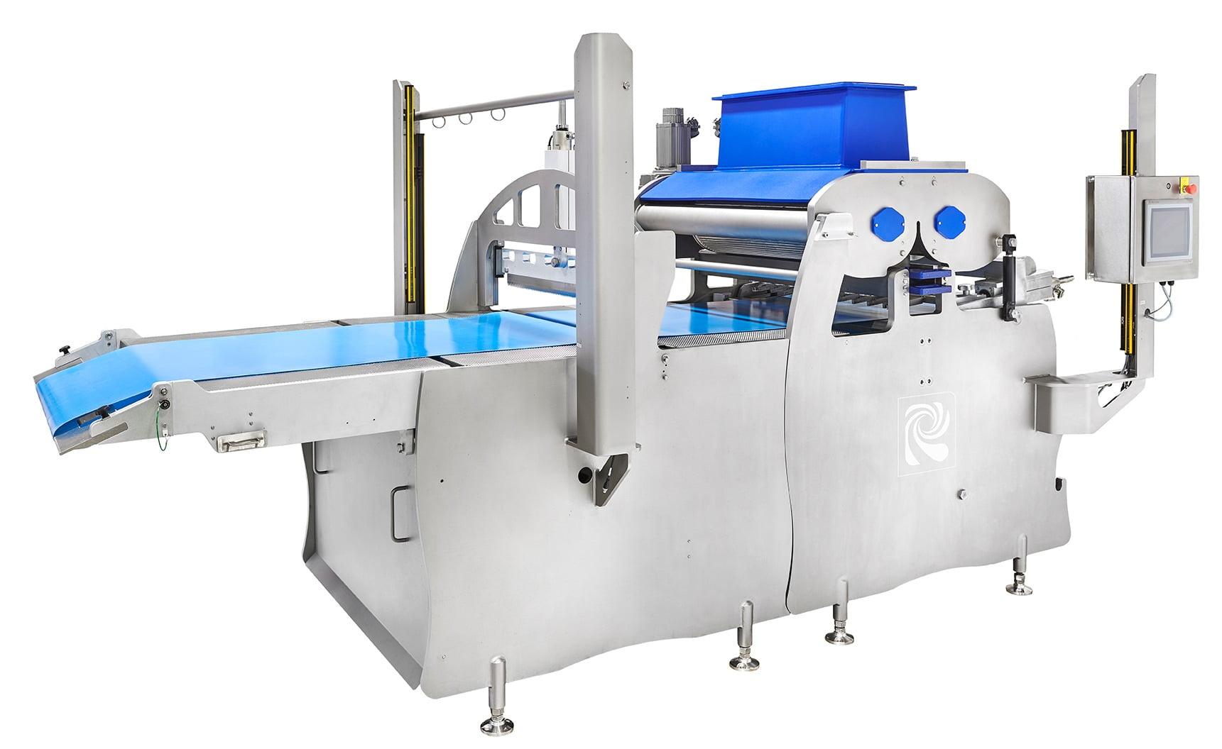 Equipment, Metal, Conveyor, Machine, Line, Blue, Product