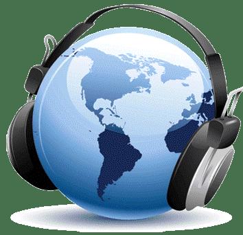 Audio equipment, Technology, Headphones, Globe, Gadget, Earth, World, Blue