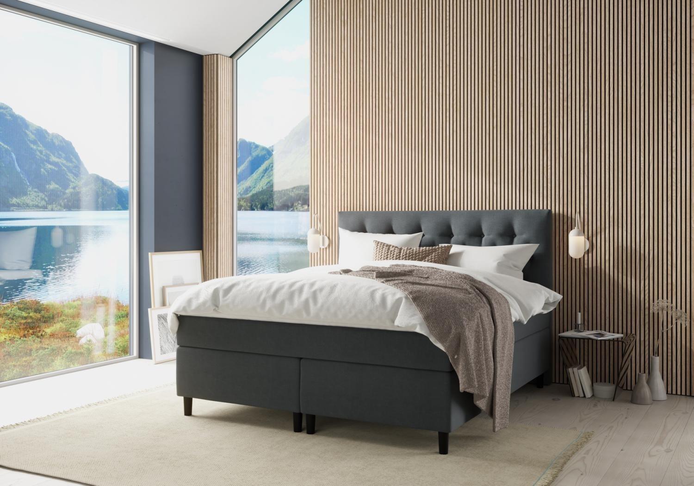Bed frame, Interior design, Property, Furniture, Comfort, Shade, Wood, Textile, Plant, Building