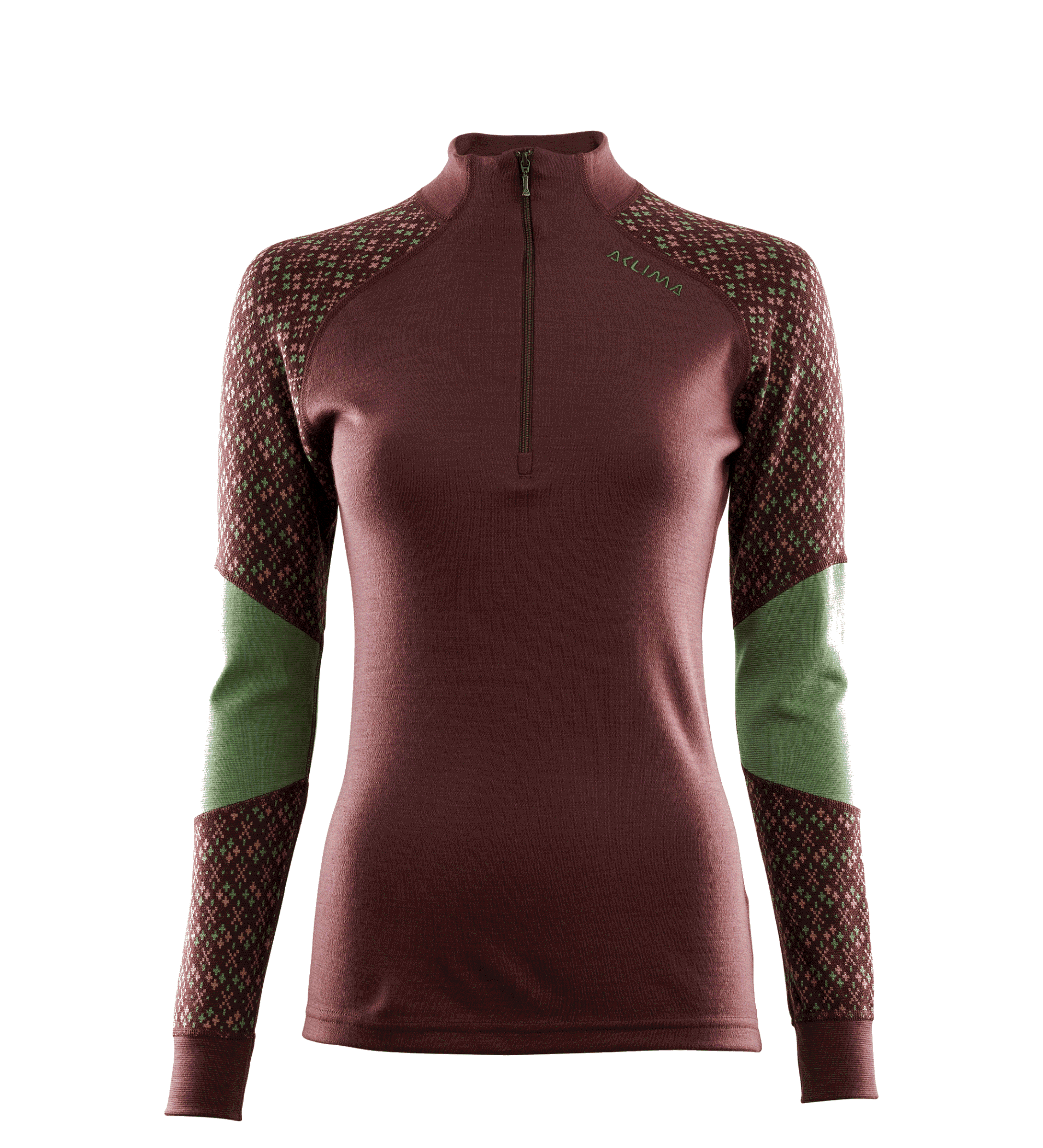 Long-sleeved t-shirt, Jersey, Maroon, Outerwear, Shoulder, Neck, Green, Sleeve, Clothing