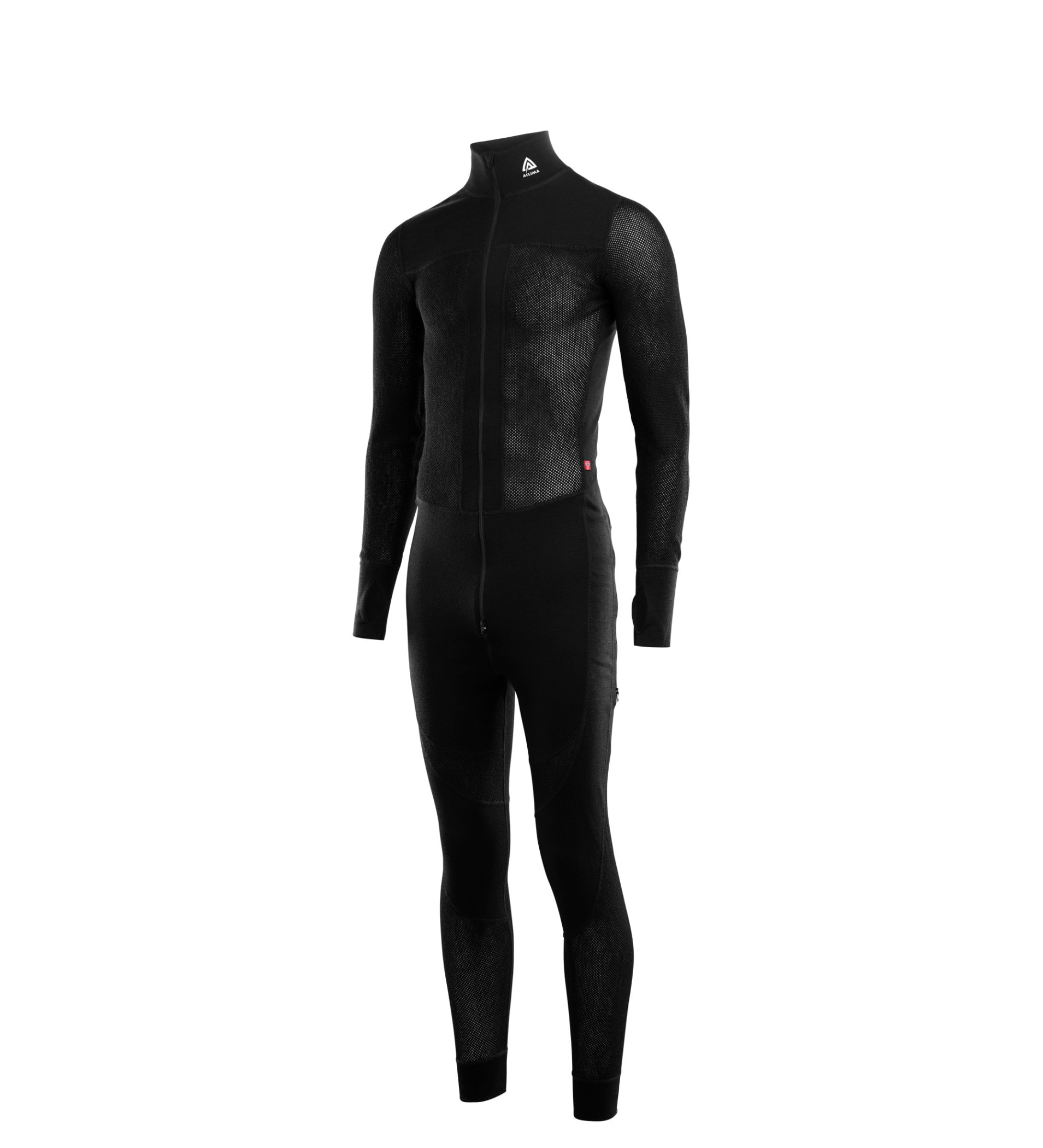 Personal protective equipment, Standing, Suit, Sportswear, Sleeve, Wetsuit, Clothing, Black