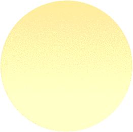 Circle shape with soft yellow gradient