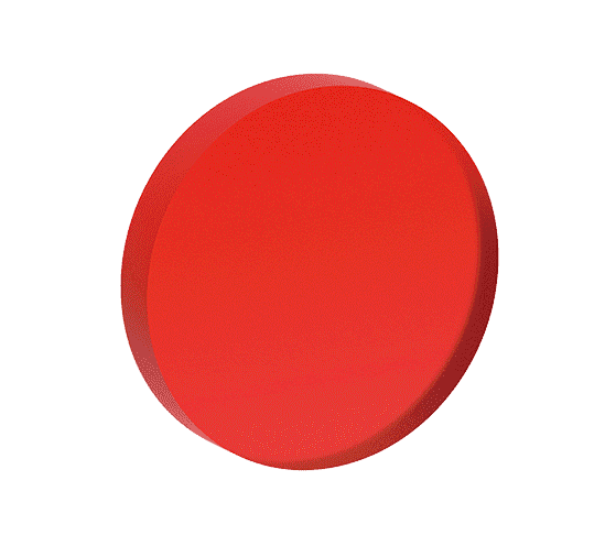 Shapes, Red, 3D