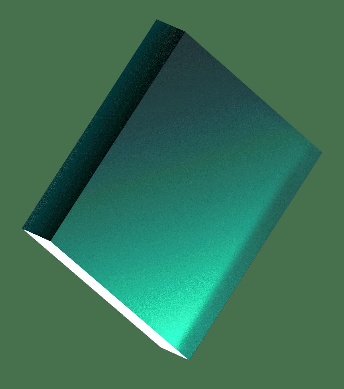 Rectangle, 3D, Green