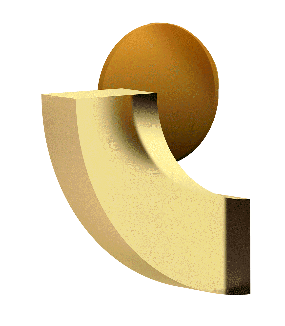 Shapes, Yellow, 3D