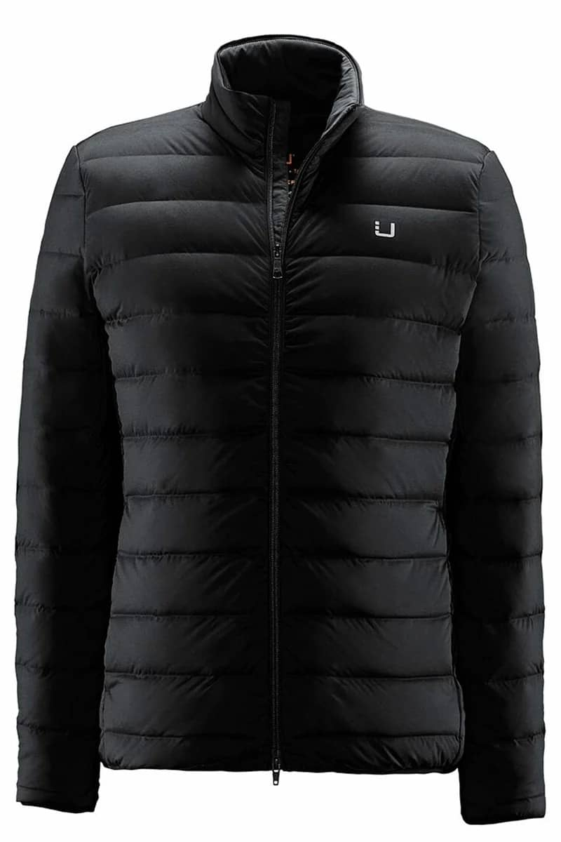 Puffer, Sleeve, Black, Outerwear, Jacket, Clothing