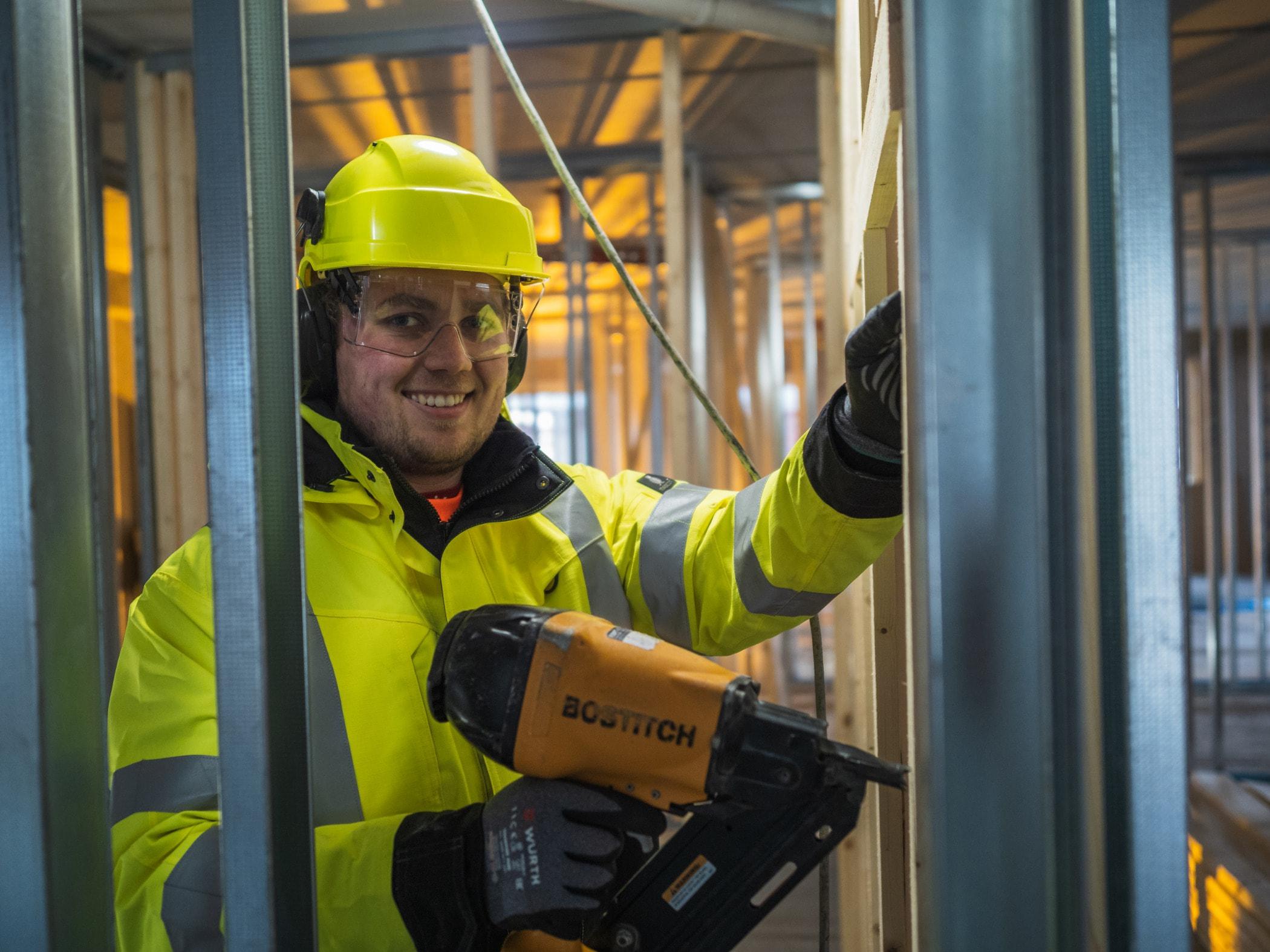 Construction worker, Engineer