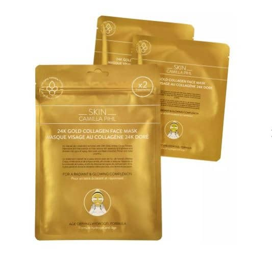 Camilla Pihl Gold Face Mask
