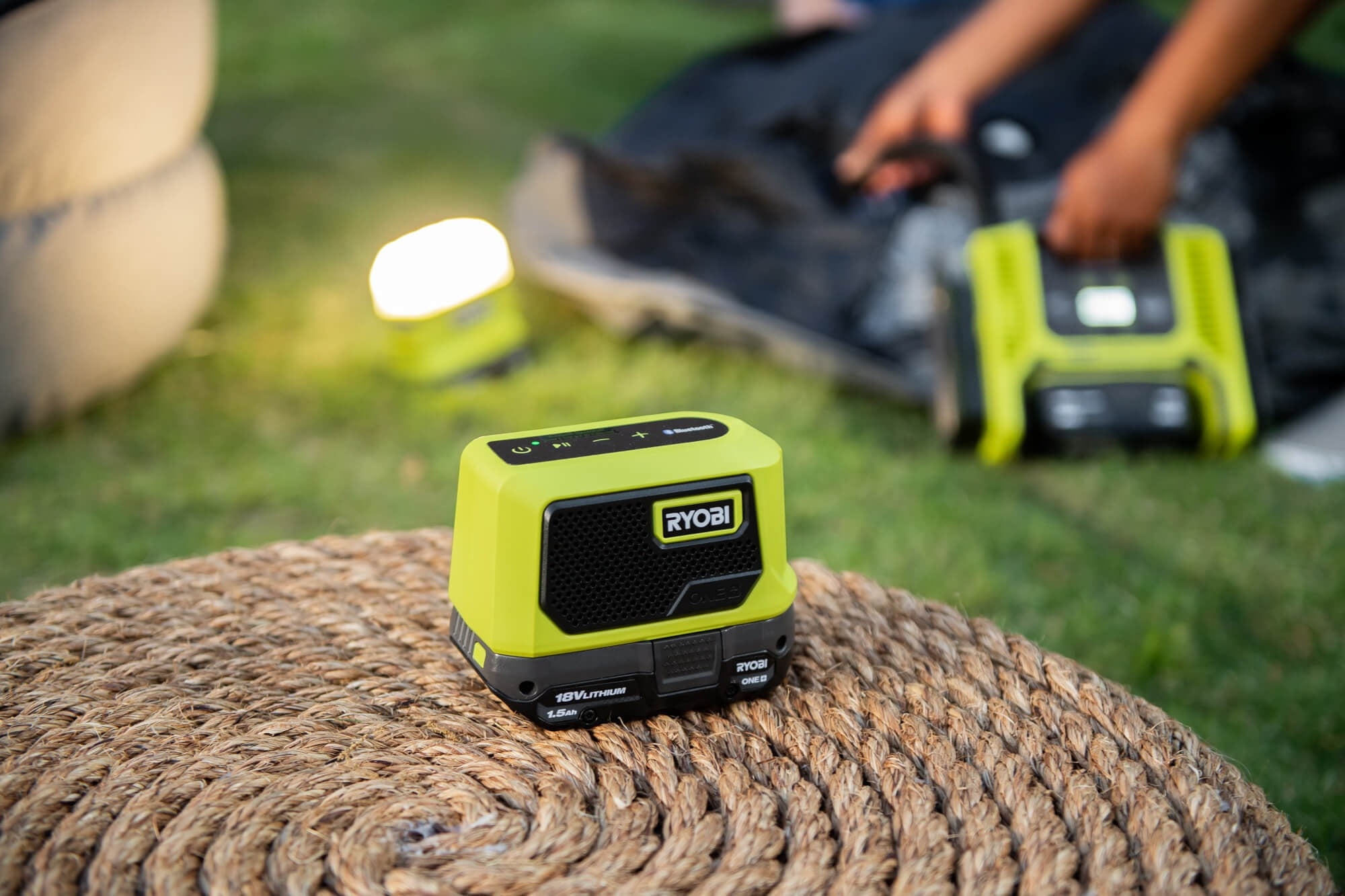 Motor vehicle, Automotive tire, Photograph, Light, Green, Grass, Yellow