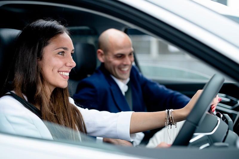 Mode of transport, Motor vehicle, Automotive design, Smile, Car, Product, Coat, Suit