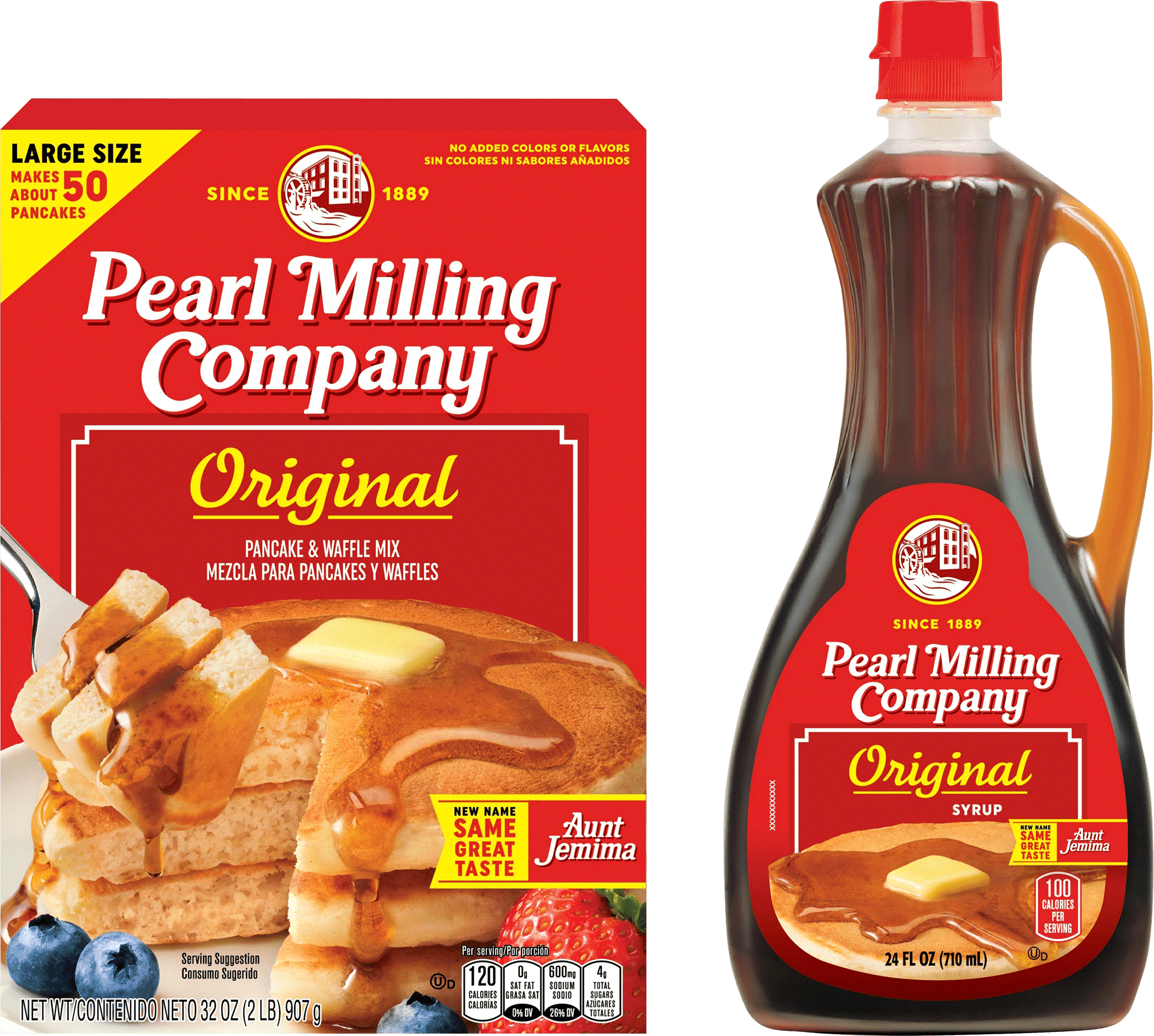 Pearl Milling Co. Packaging