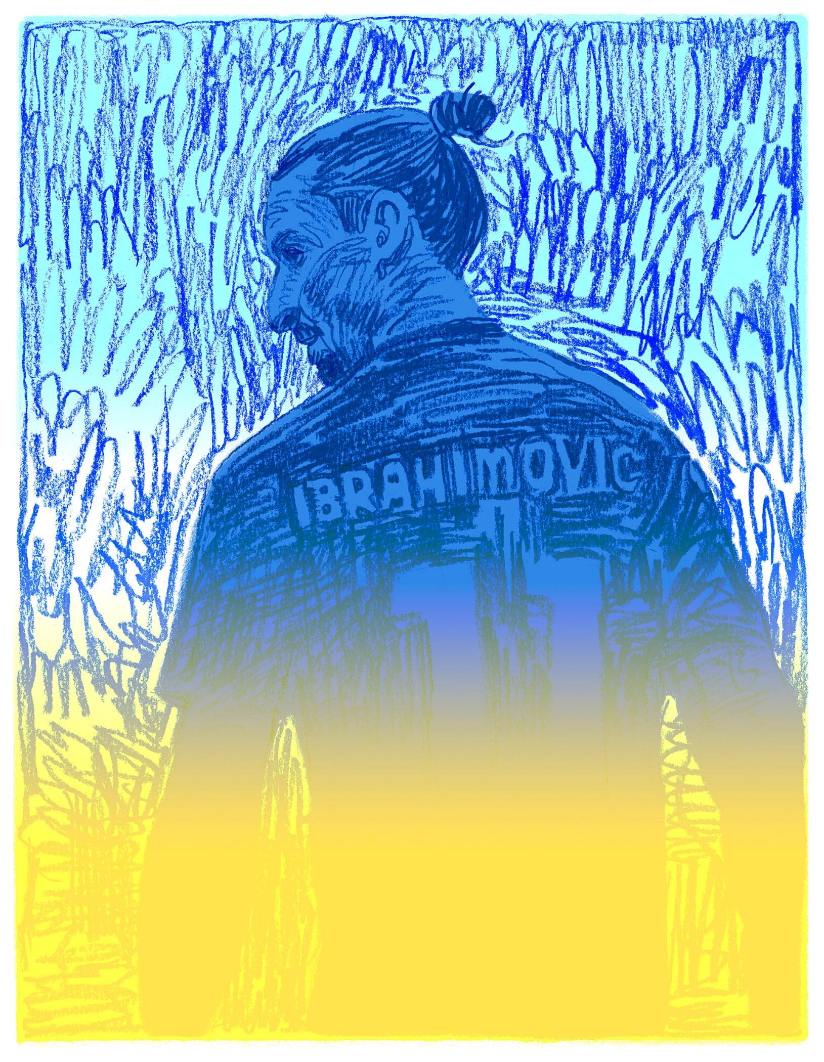 Human body, Azure, Blue, Art, Font
