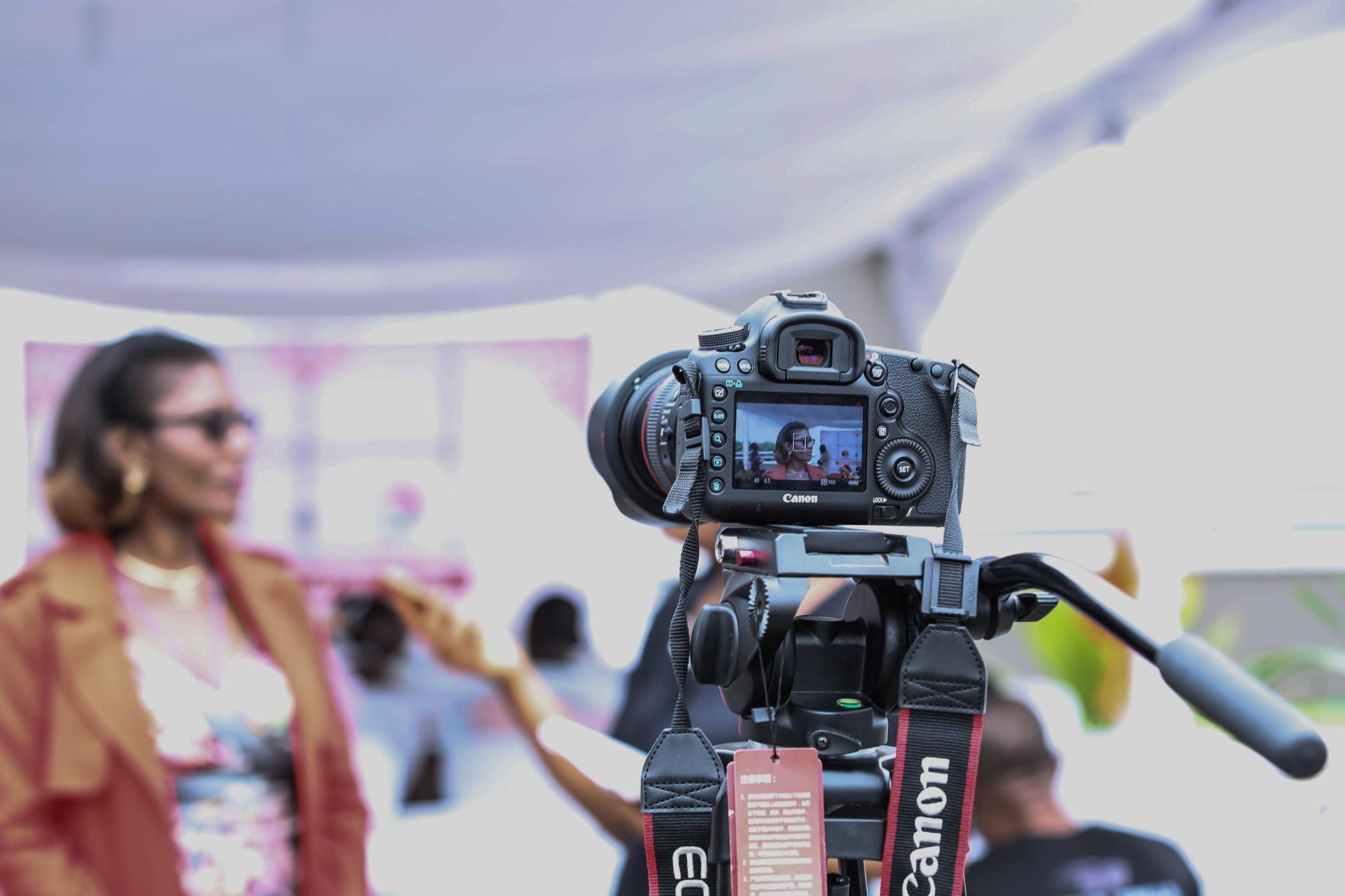 camera, camera equipment, interview
