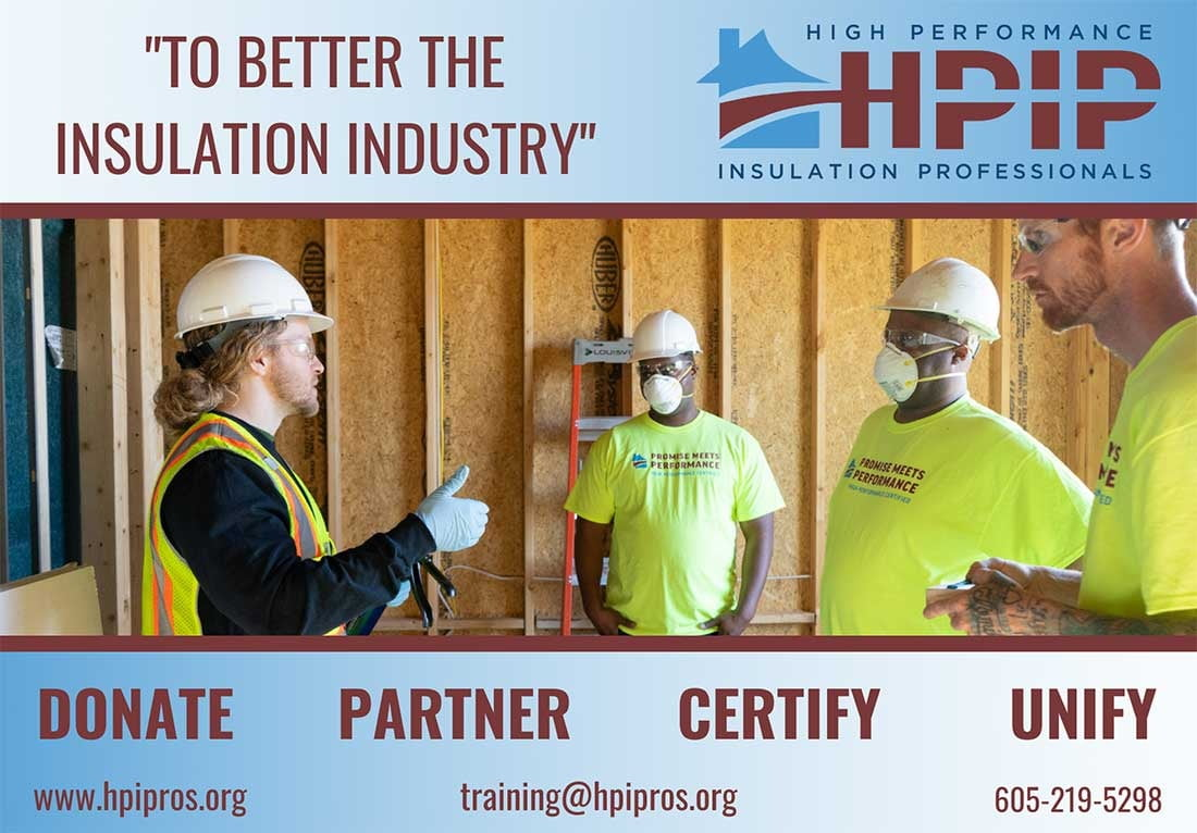 High Performance Insulation Professionals HPIP