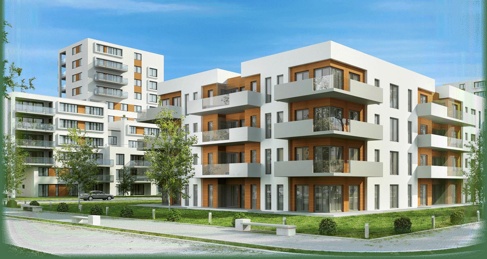 Urban design, Tower block, Building, Sky, Plant, Window, Cloud, Tree