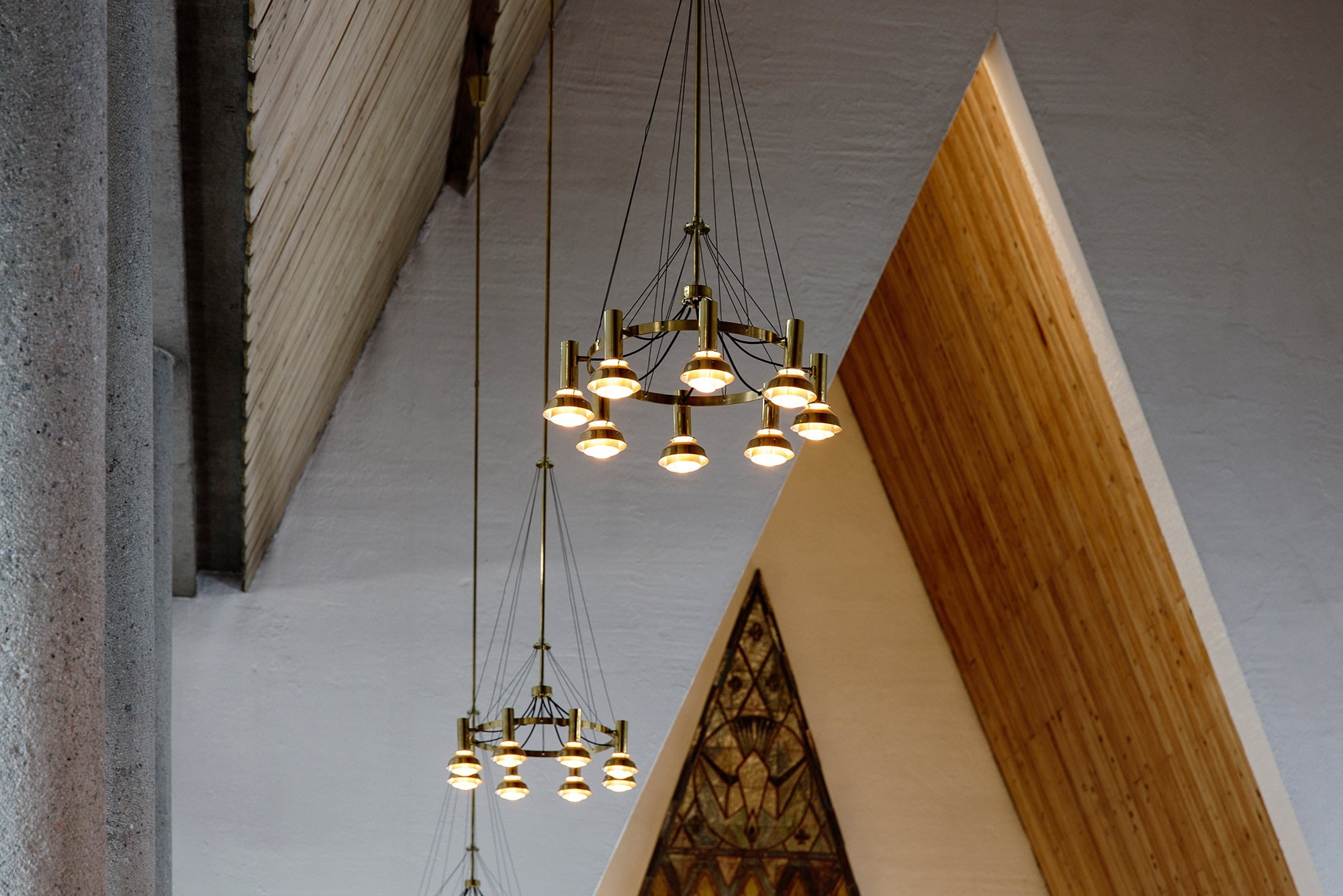Interior design, Material property, Light, Wood, Amber, Lamp, Line