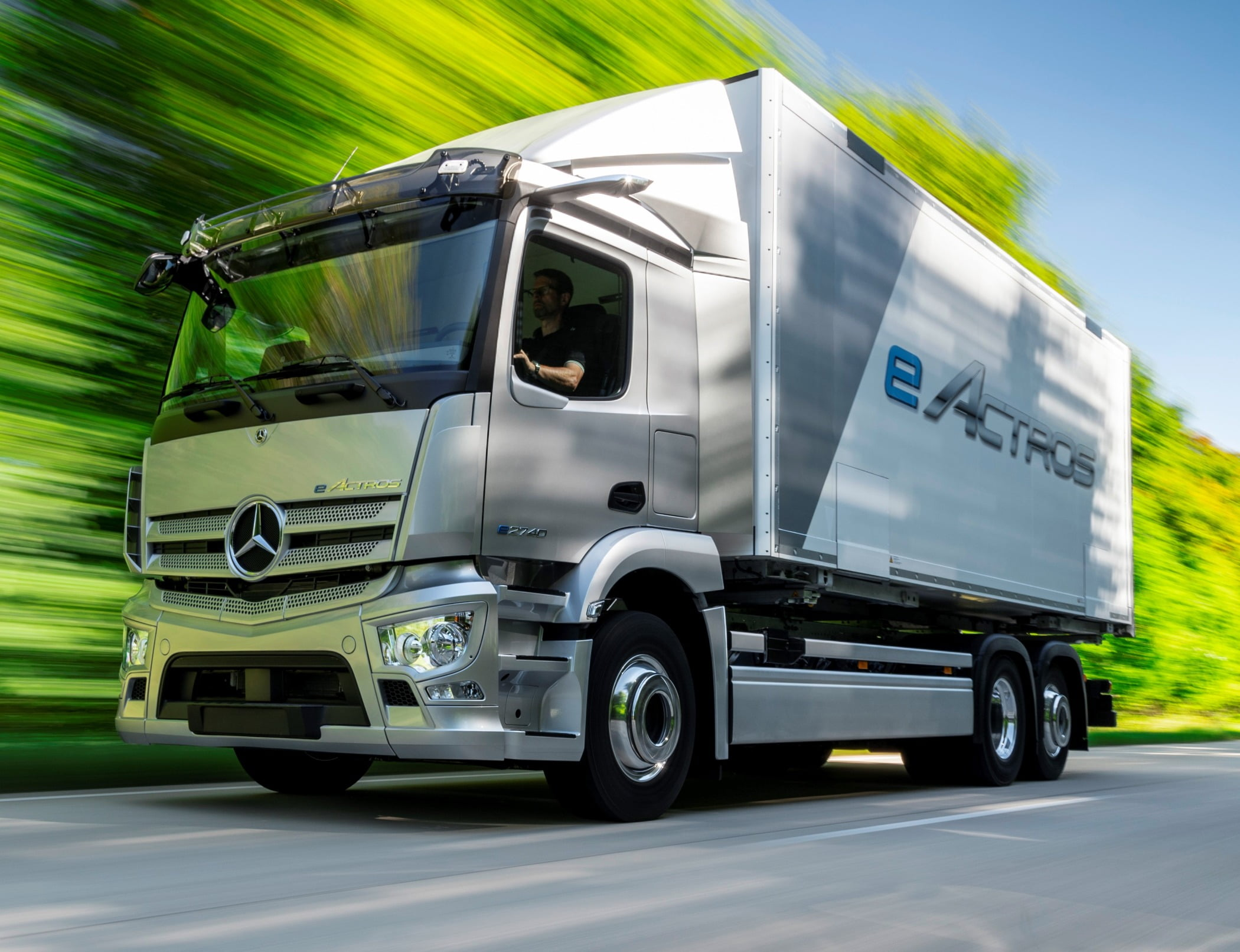 Many electric trucks, such as the Mercedes-Benz eActros, models will be assembled alongside vehicles with ICE engines and power trains.