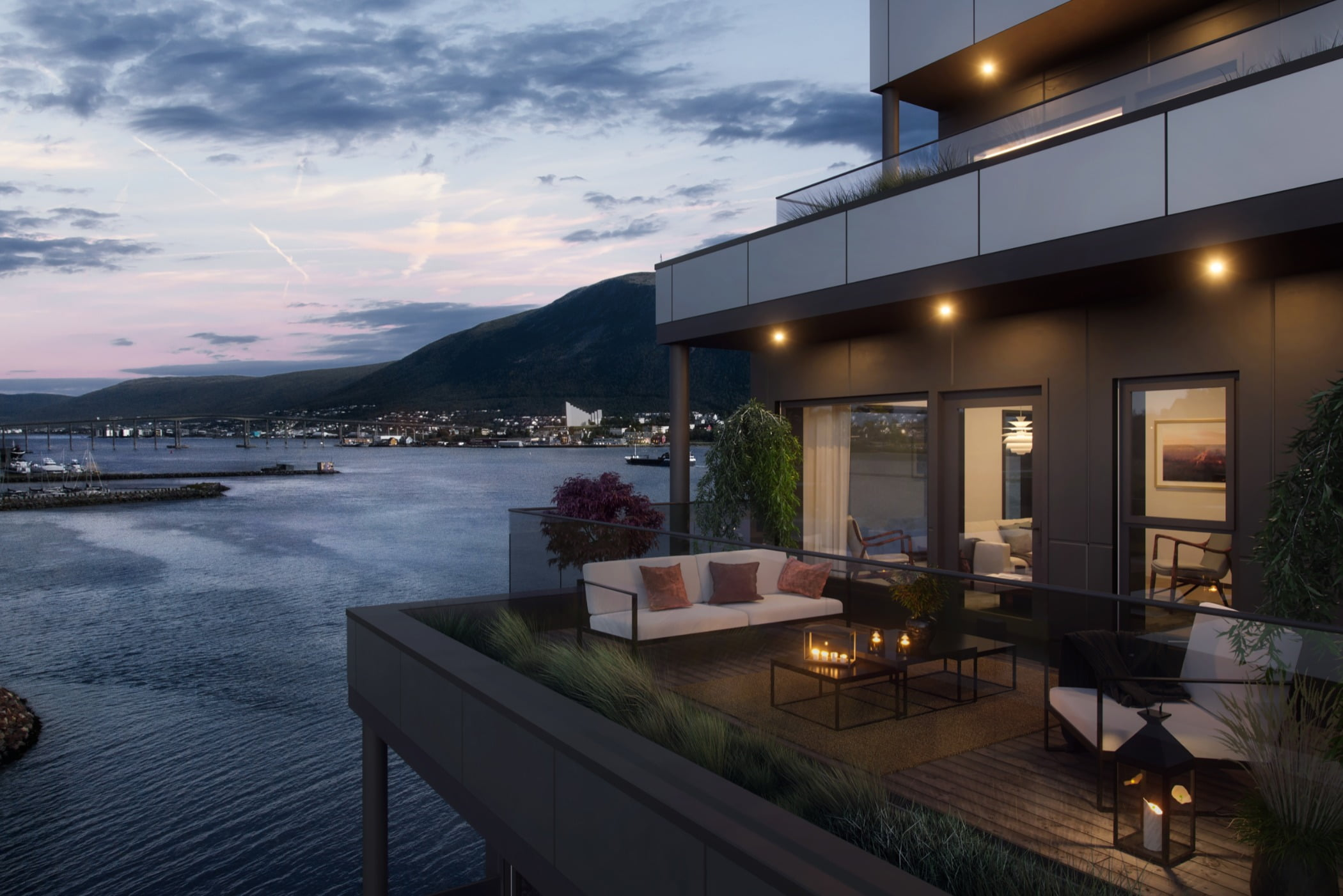 Interior design, Cloud, Sky, Building, Property, Plant, Window, Houseplant, Flowerpot, Water