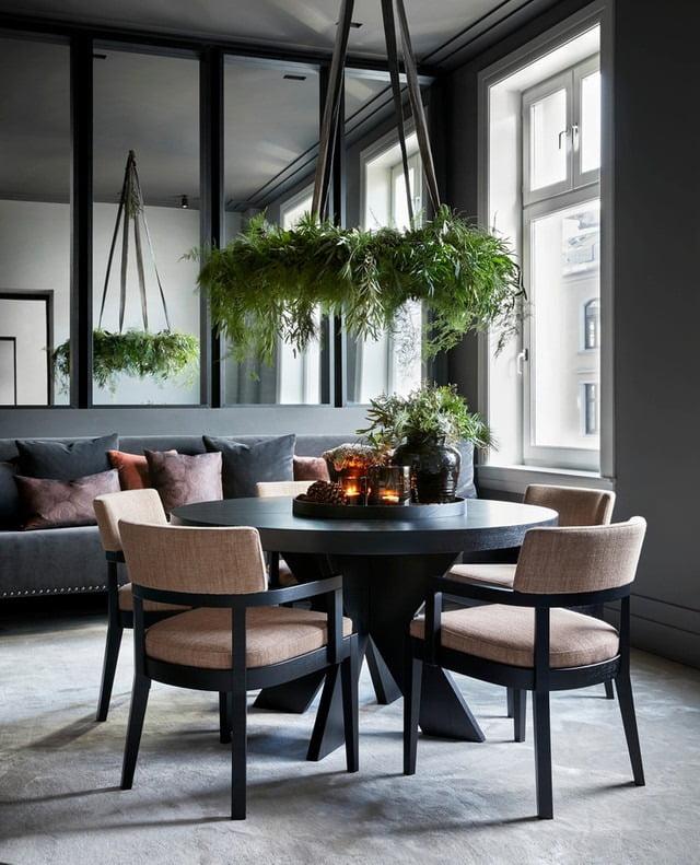Living room, Interior design, Building, Property, Table, Furniture