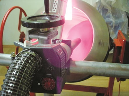 Leister LE 3300 Drying Coating