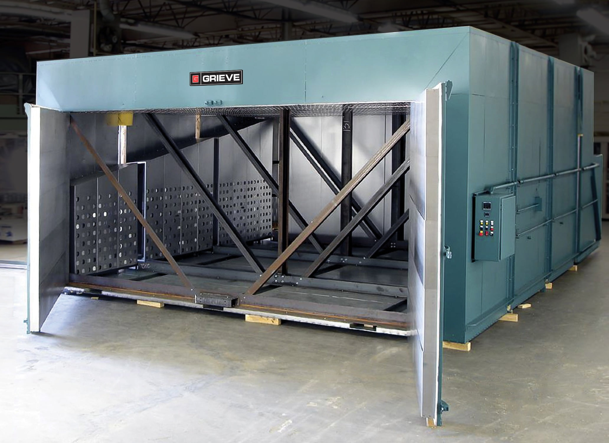 Grieve No 1019 Electrically Heated Walk In Batch Oven