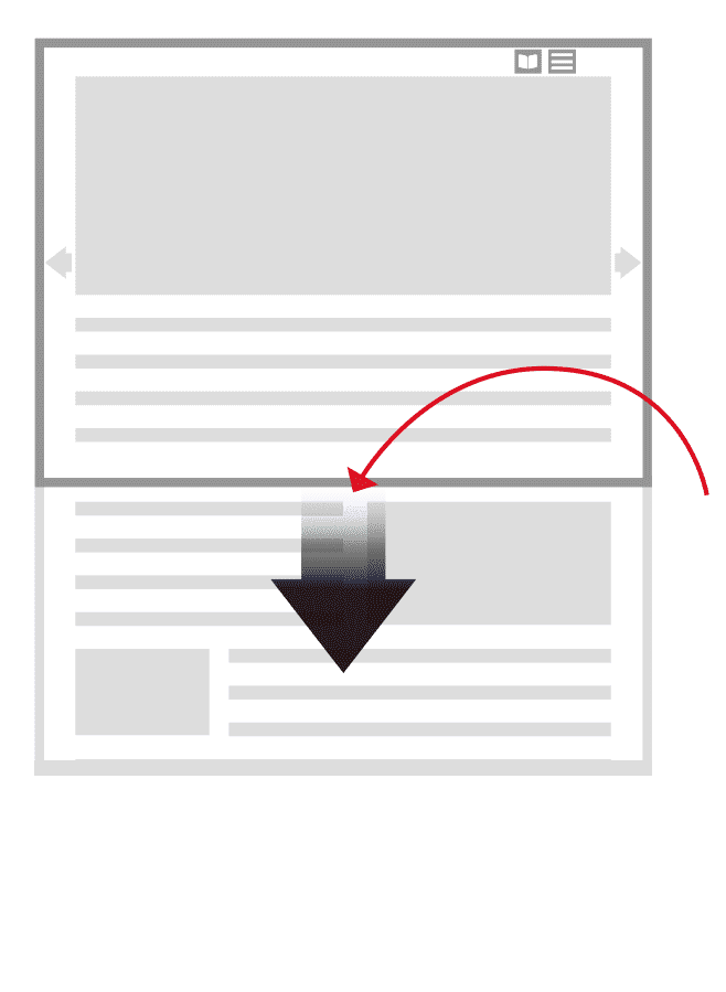 Digital Edition Navigation Guide Scroll