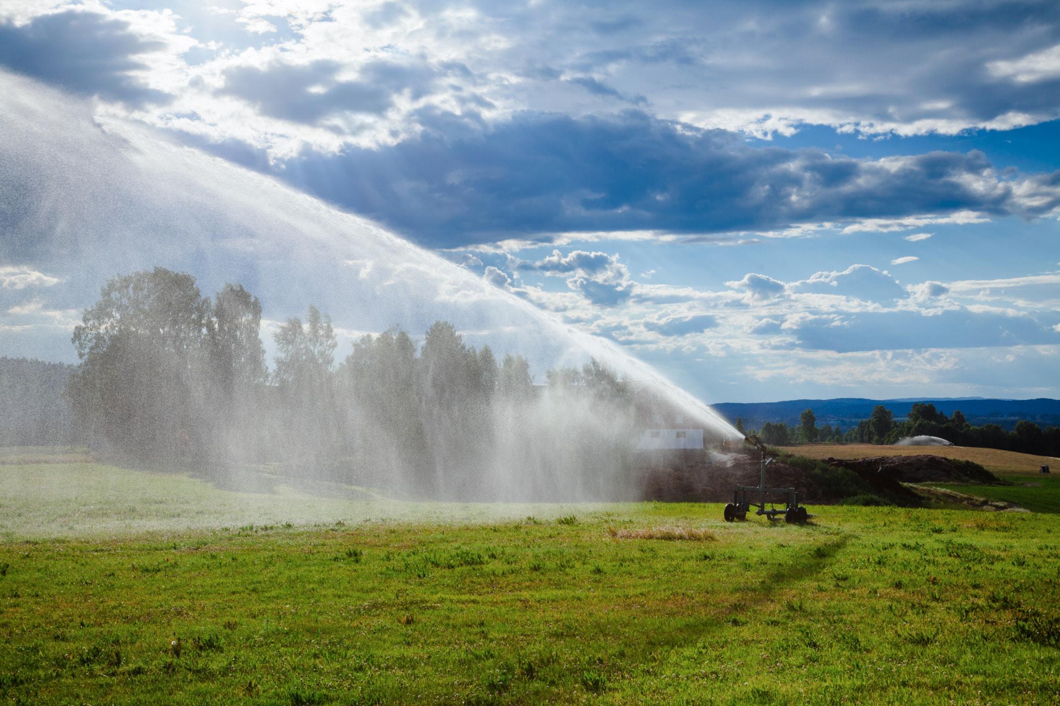 Water resources, Natural landscape, Cloud, Highland, Rainbow, Pasture, Grassland, Sky, Nature