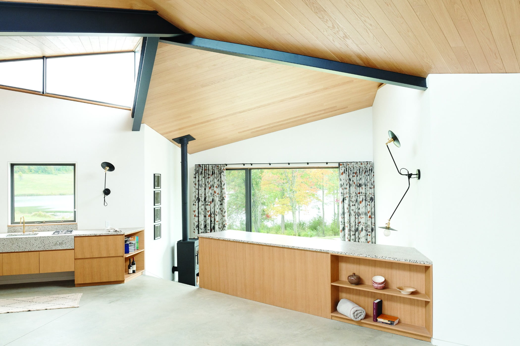 Interior design, Cabinetry, Furniture, Building, Property, Wood, Drawer, Shade, House, Floor