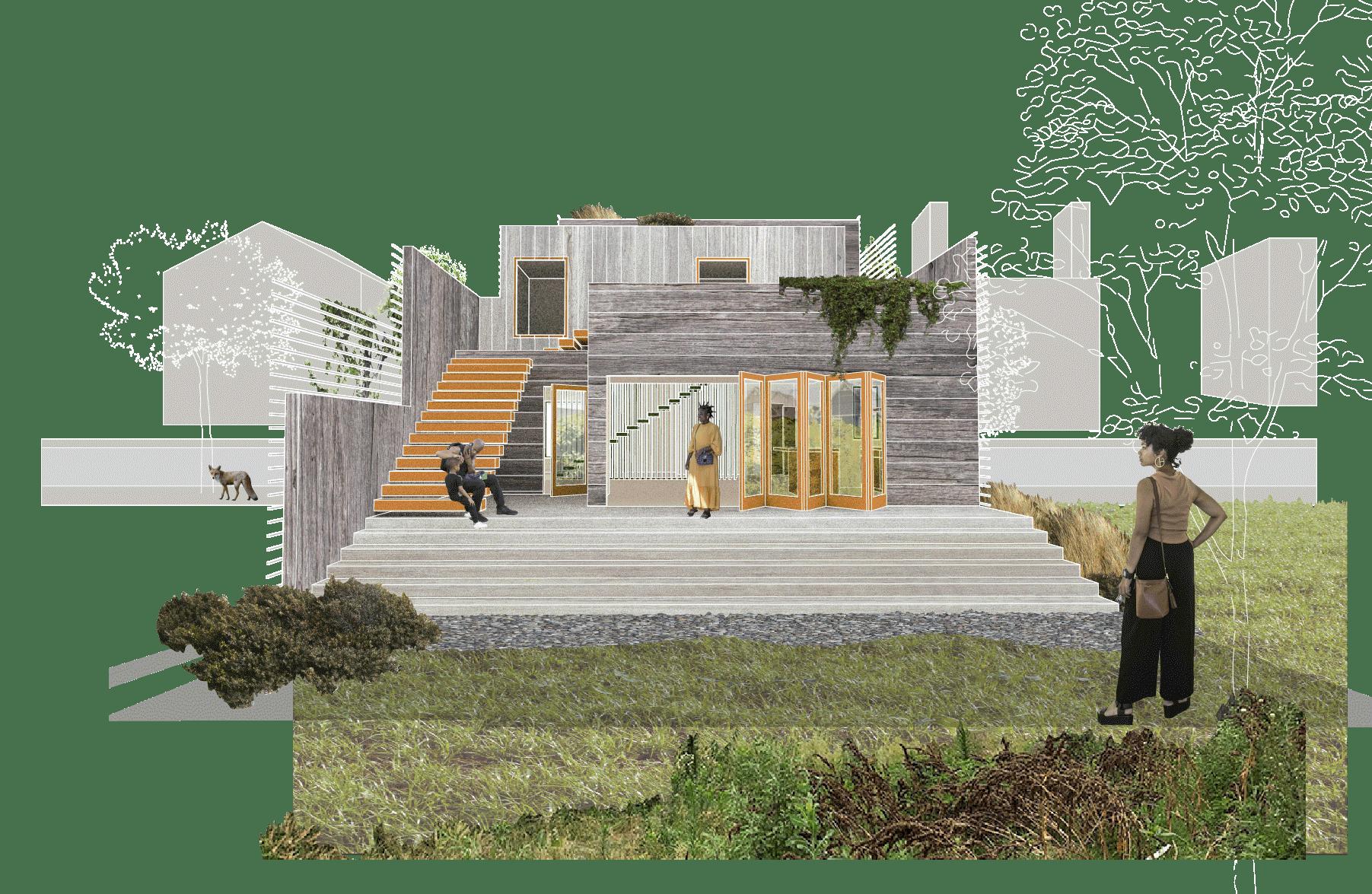 Land lot, Urban design, Building, Plant, Biome, Grass
