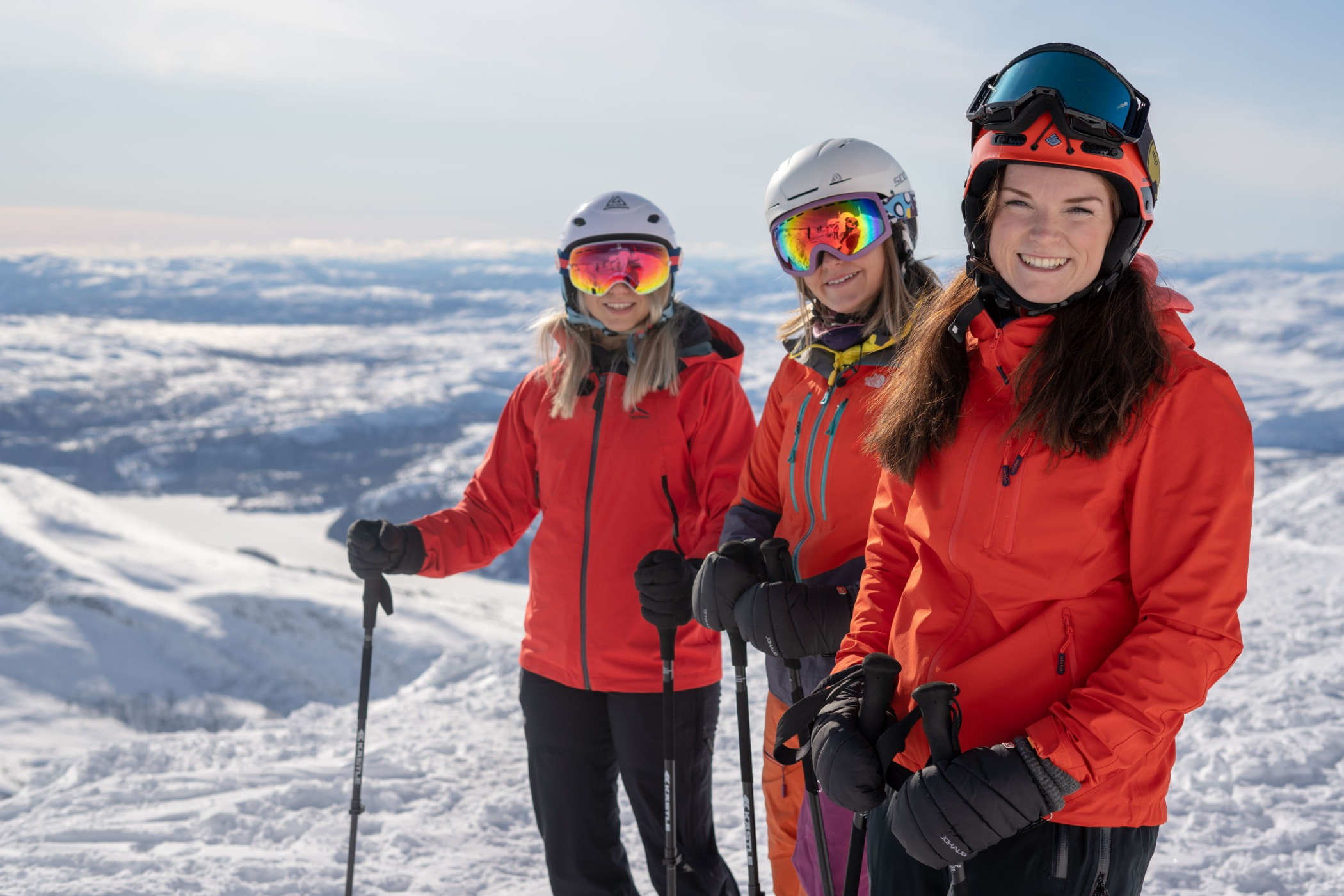 Outdoor recreation, Ski mountaineering, Skiing, Helmet, Winter, Snow