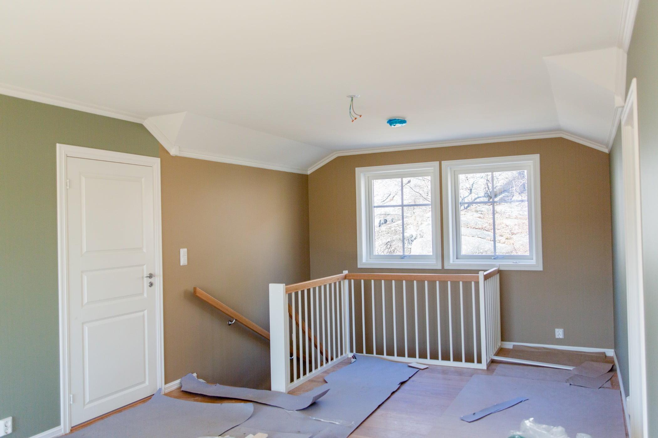 Interior design, Wood stain, Property, Window, Fixture, Paint, Flooring, Floor, Shade
