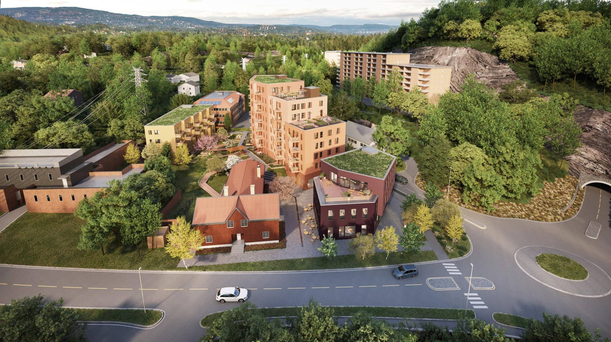 Urban design, Land lot, Plant, Building, Property, Window, Tree, Infrastructure, House, Sky